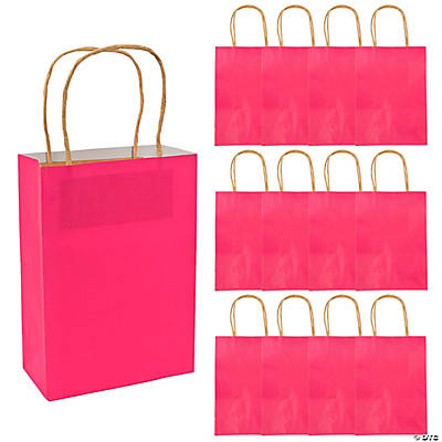 Medium Hot Pink Craft Bags