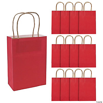 Red Medium Craft Bags