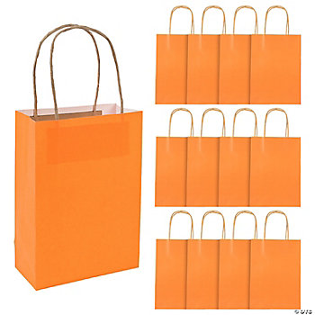 Orange Medium Craft Bags
