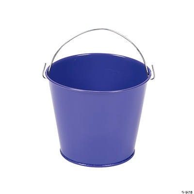 Purple Pails with Handles