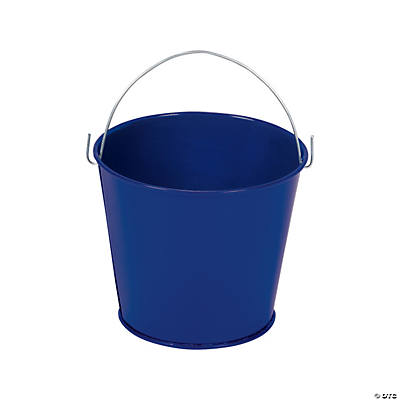 Blue Pails with Handles