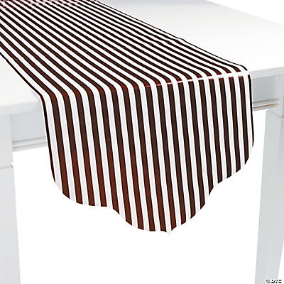 Chocolate Brown Reversible Table Runner