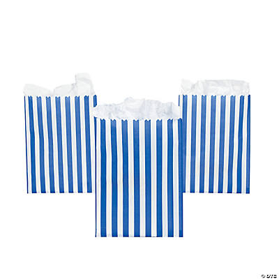 purple striped treat bags in 3 6023 purple striped treat bags paper 7 ...