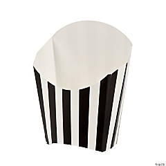 Black Striped Fry Containers