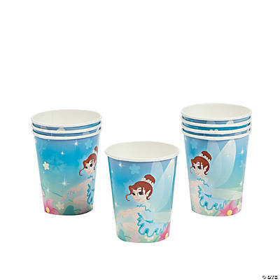 Ballerina Fairies Cups