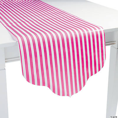 Candy Pink Reversible Table Runner