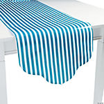 Turquoise Reversible Table Runner