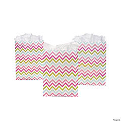 Chevron Pattern Fashion Treat Bags