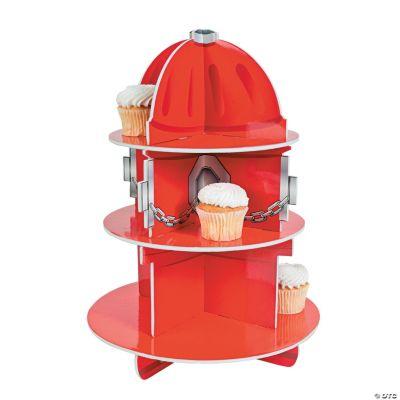 Fire Hydrant Cupcake Holder