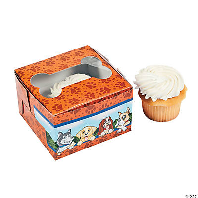 Puppy Party Cupcake Boxes