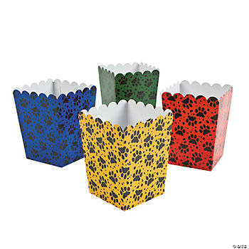 Mini Puppy Party Popcorn Boxes