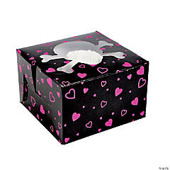 Pink Pirate Girl Cupcake Boxes