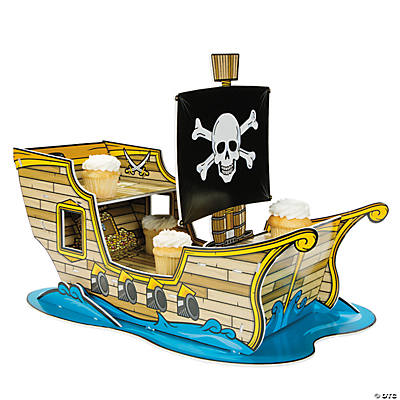 Pirate Ship Cupcake Holder
