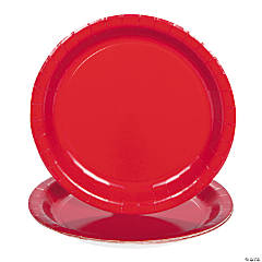 Classic Red Dinner Plates