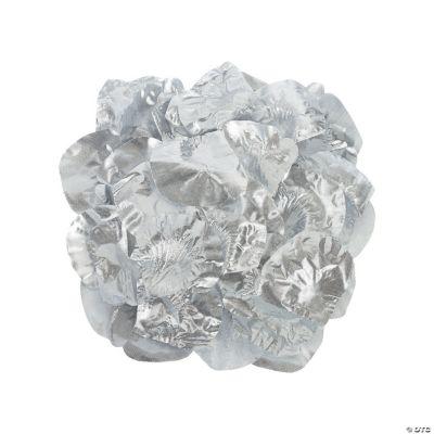 Silver Rose Petals