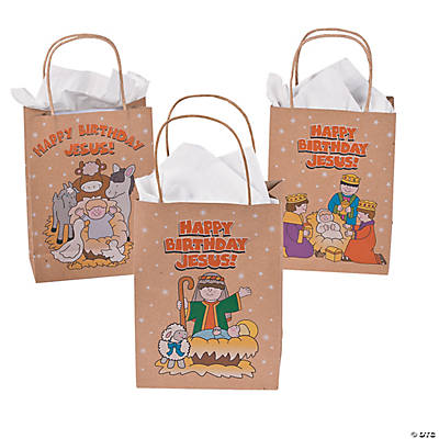 """Happy Birthday Jesus!"" Gift Bags"