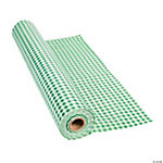 Green Gingham Tablecloth Roll