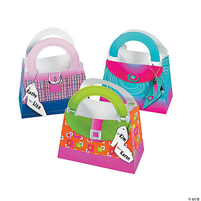 Girly Gift Bags with Shoe Tag