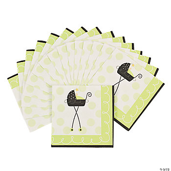 Stroller Fun Beverage Napkins