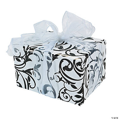 Black & White Wrapping Paper
