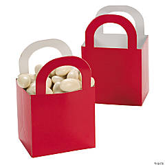 Red Favor Gift Baskets