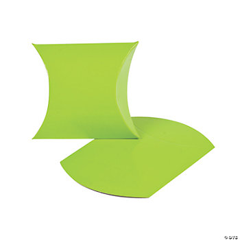 Lime Green Pillow Boxes