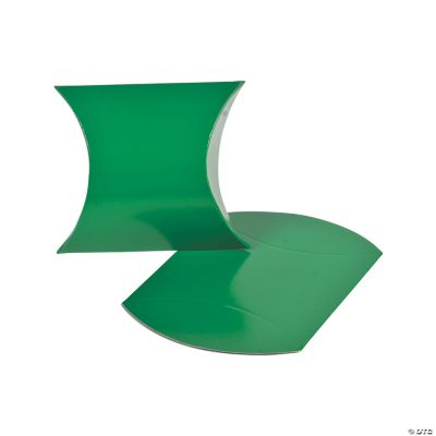 Green Pillow Boxes