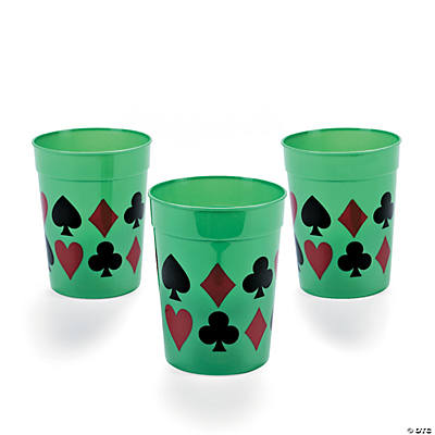 Casino Tumbler Glasses