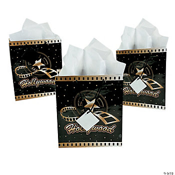 Medium Hollywood Gift Bags Oriental Trading