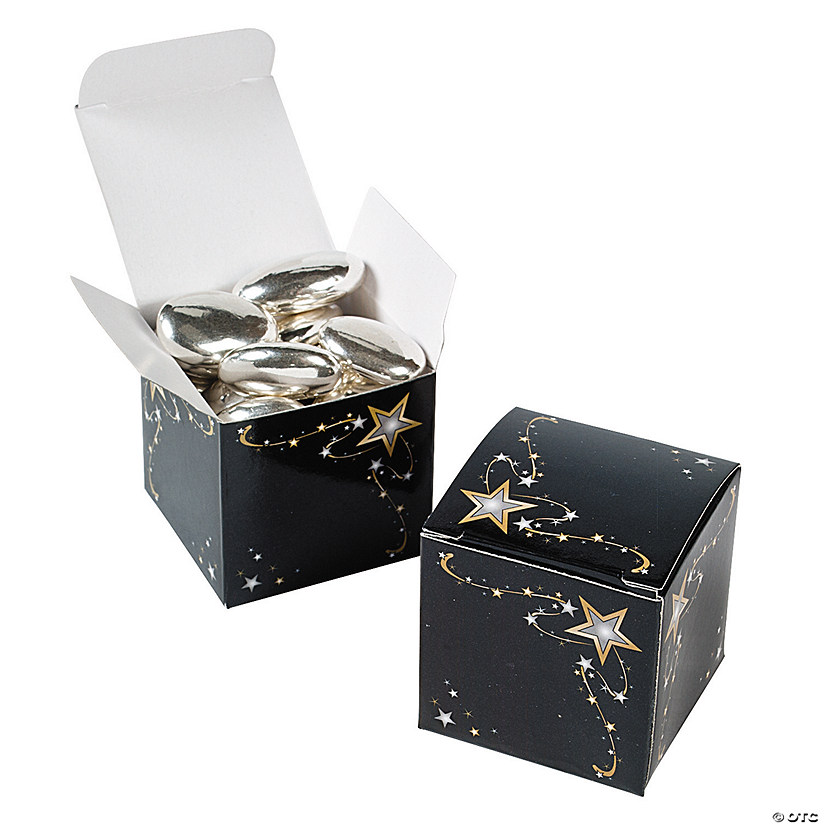 Gold star gift boxes negle Image collections