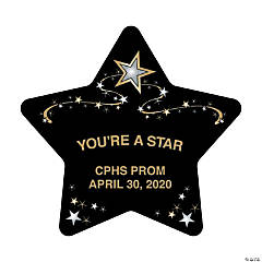 Personalized Star-Shaped Favor Boxes