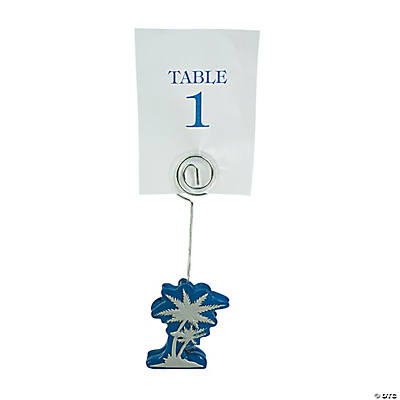 Palm Tree Place Card Holders