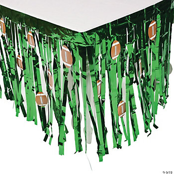 Football Tableskirt With Cutouts