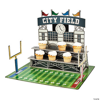 Large Football Stadium Cupcake Holder
