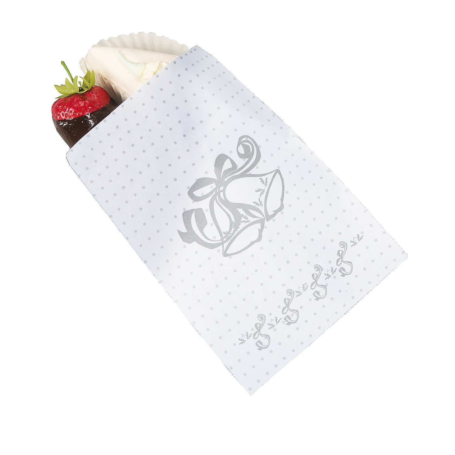 wedding bell cake bags in 3 761 send each guest home with a slice of