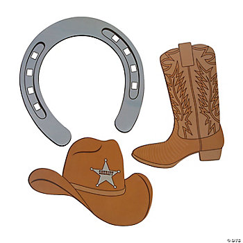 Western Cutout Assortment