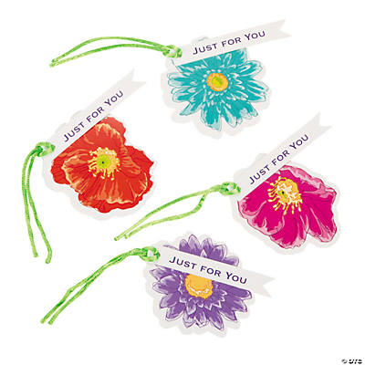 Love in Bloom Wedding Favor Tags