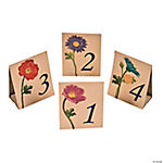 Love in Bloom Table Tent Cards