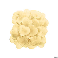 Polyester Cream Rose Petals