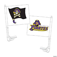 NCAA™ East Carolina University Pirates Car Flag