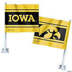 NCAA™ Iowa Hawkeyes Car Flag