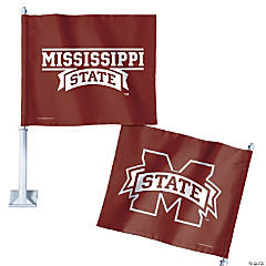 NCAA™ Mississippi Bulldogs Car Flag