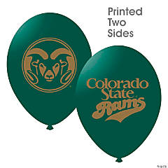NCAA™ Colorado State Rams Latex Balloons