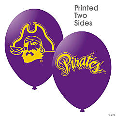 NCAA™ East Carolina University Pirates Latex Balloons
