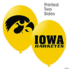 NCAA™ Iowa Hawkeyes Latex Balloons