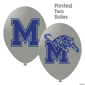 NCAA™ Memphis Tigers Latex Balloons
