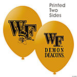 NCAA™ Wake Forest Demon Deacons Latex Balloons