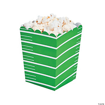 Mini Football Popcorn Boxes