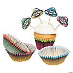 Alien Cupcake Liners with Picks