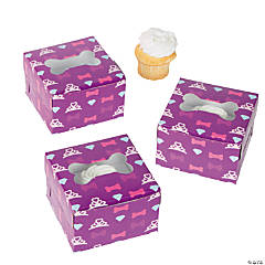 Fashion Puppies Cupcake Boxes